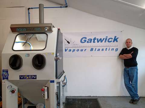 Gatwick Vapour Blasting